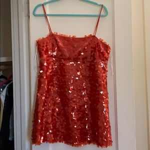 Zara sequin mini dress
